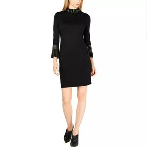 Calvin Klein Party Embellished Sweaterdress Small